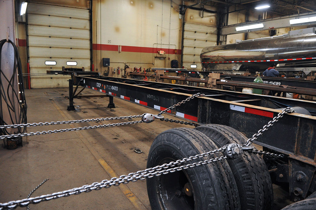 Mobile Tire Service >> Frame Straightening Services | Chicago Area Truck and ...