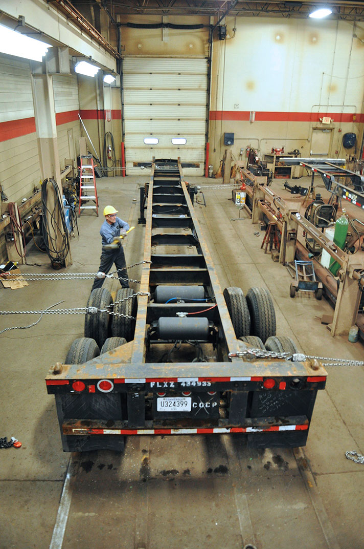 Frame Straightening Services Chicago Area Truck And
